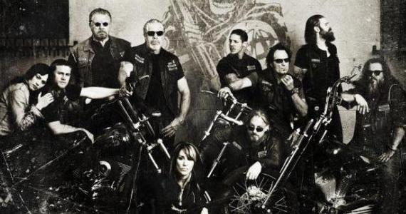 Sons of Anarchy Season 4 Banner