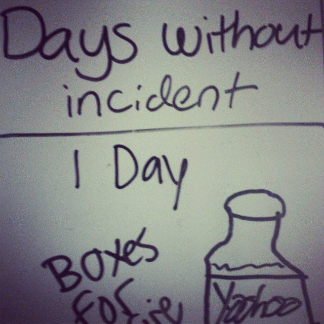 Days Without Incident 1 Aka What I Did On My Winter Vacation The